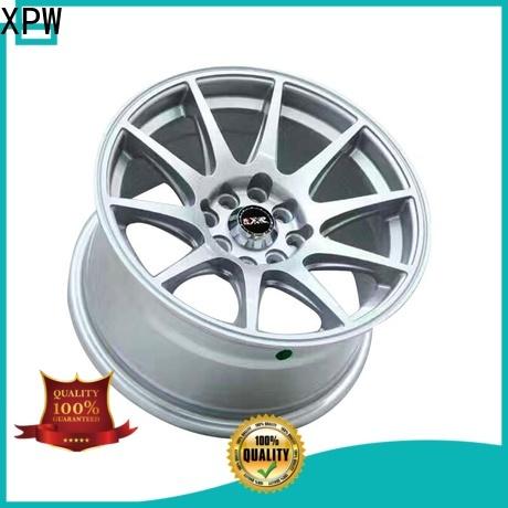XPW high quality black alloy wheels wholesale for Honda series