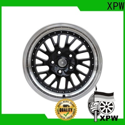 XPW black custom car rims manufacturing for Toyota