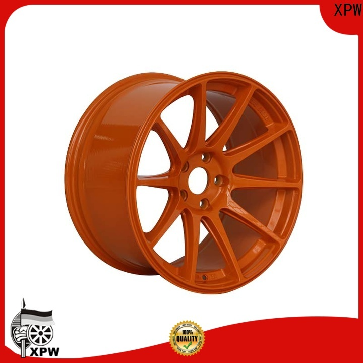 XPW wide sides 18 inch offset rims manufacturing for cars