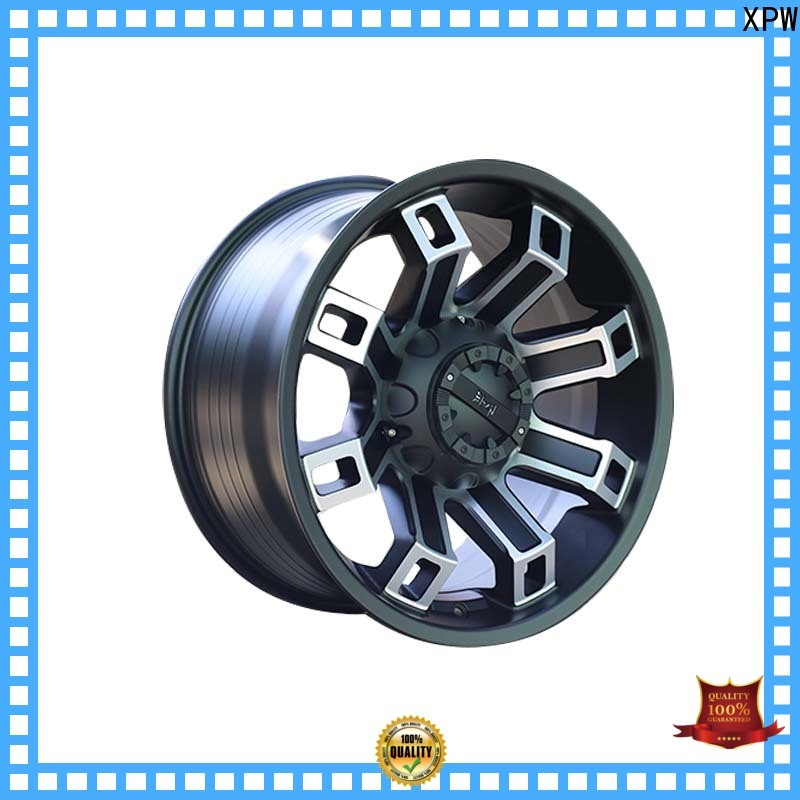 effcient discount custom wheels aluminum manufacturing for SUV cars