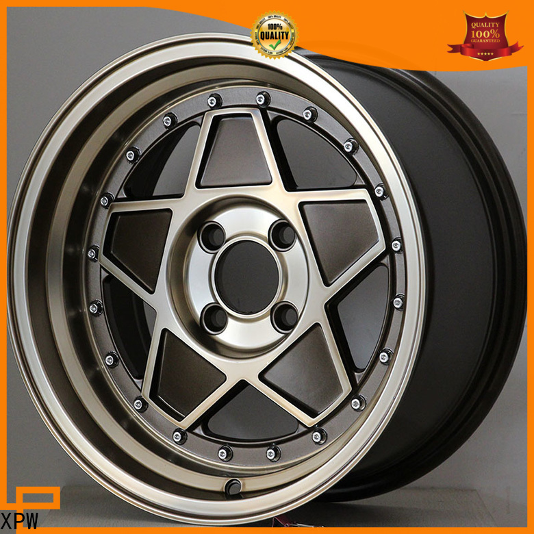 XPW black 18 inch wheels wholesale for Honda series