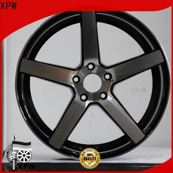 custom 16 inch black rims low-pressure casting design for Honda