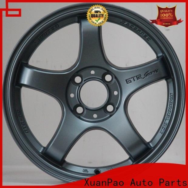 professional 15x10 rims black wholesale for cars