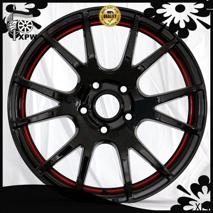 XPW custom 15x12 steel wheels wholesale for Toyota