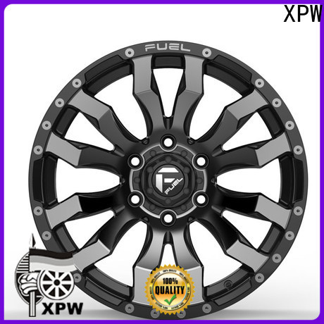 XPW novel design with beautiful shape 15 steel wheels manufacturing for Honda series