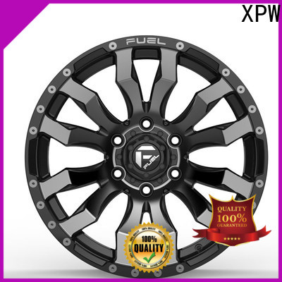 XPW matte black 17 inch rims 4 lug series for cars