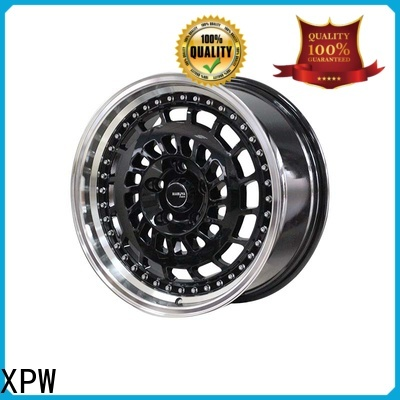 XPW matte black chrome rims and tires manufacturing for Toyota