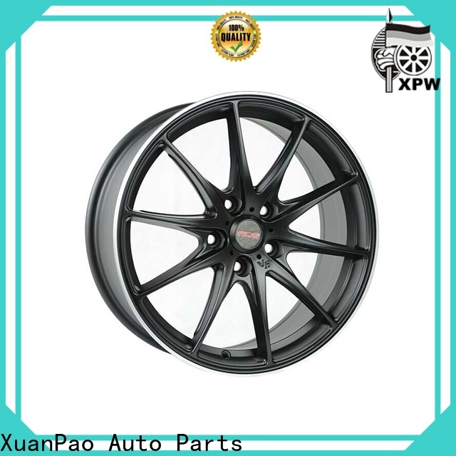 XPW custom 18 black truck rims manufacturing for vehicle