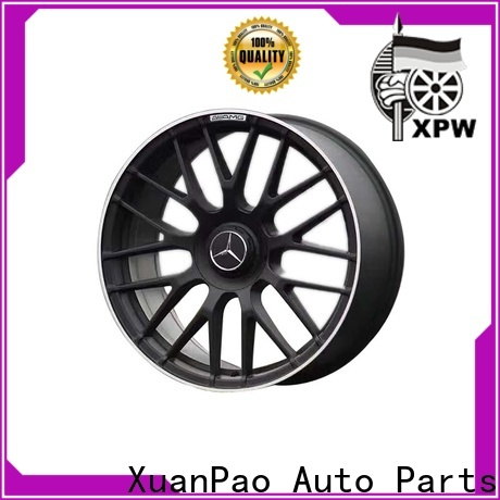 XPW low-pressure casting mercedes benz chrome rims manufacturing for Benz car series