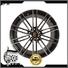 high quality porsche 911 turbo wheels black face wholesale for
