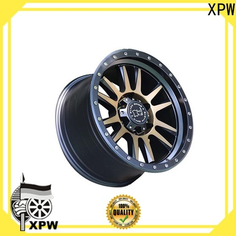 professional custom suv wheels black with bronze face wholesale for cars
