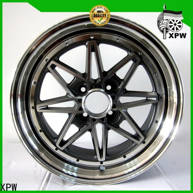 high quality 15x6 steel wheels aluminum manufacturing for Honda series