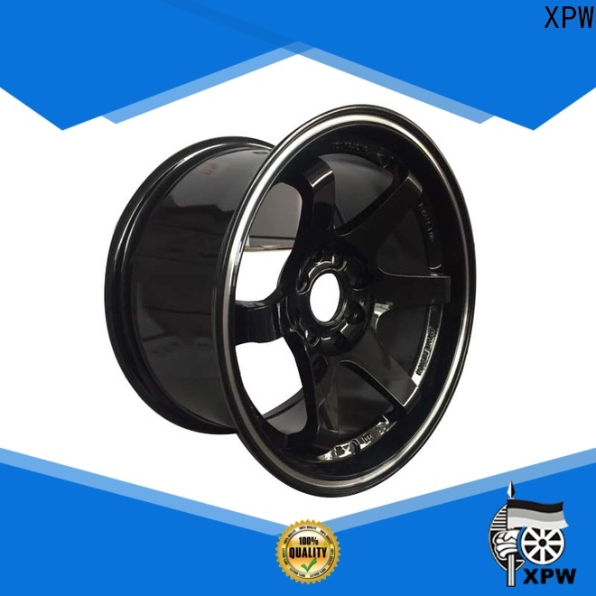 XPW cost-efficient 15 inch black rims wholesale for Toyota