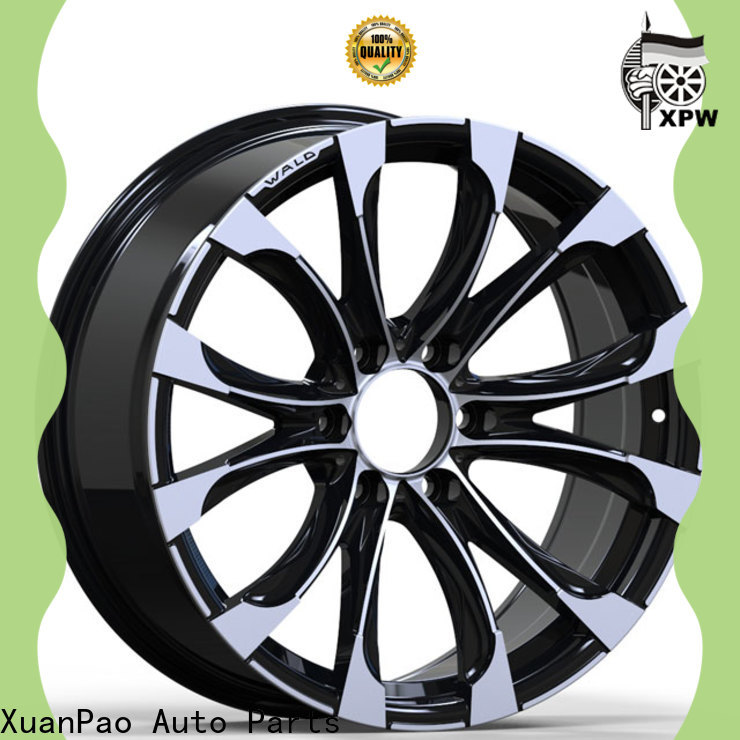 XPW black with bronze face rims for a suv manufacturing for vehicle
