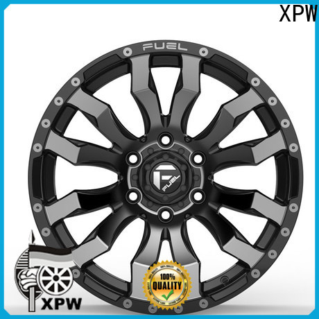 XPW alloy 17 inch rims 6 lug manufacturing for Toyota