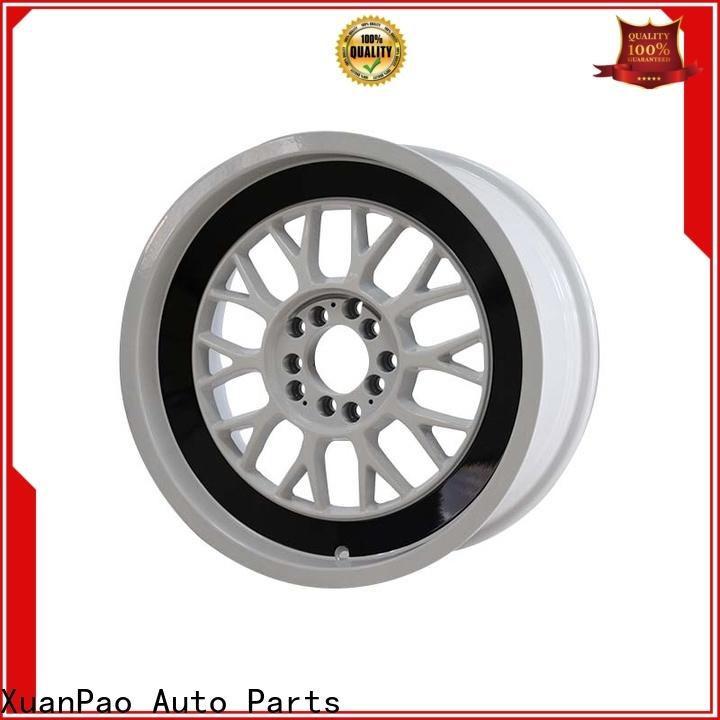 custom chrome wheels aluminum design for vehicle