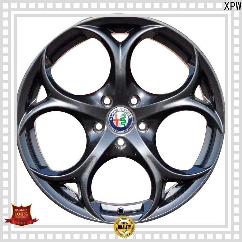 XPW matt black 18 inch chrome wheels supplier for Honda series