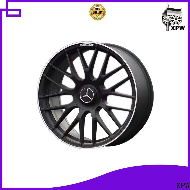 XPW professional black mercedes wheels manufacturing for Benz car series