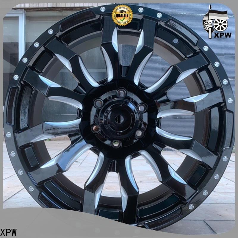 XPW 20 rim and tire packages supplier for car