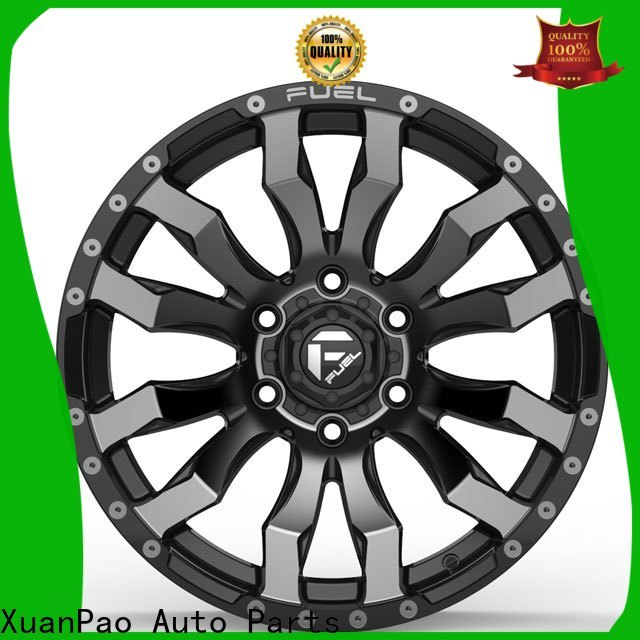 XPW black with bronze face suv rims and tires wholesale for vehicle