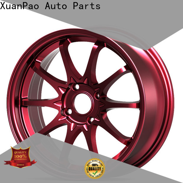 XPW alloy black wheels design for vehicle