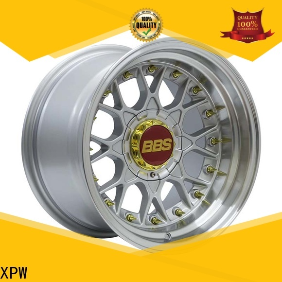 XPW black 15 inch alloy wheels design for cars