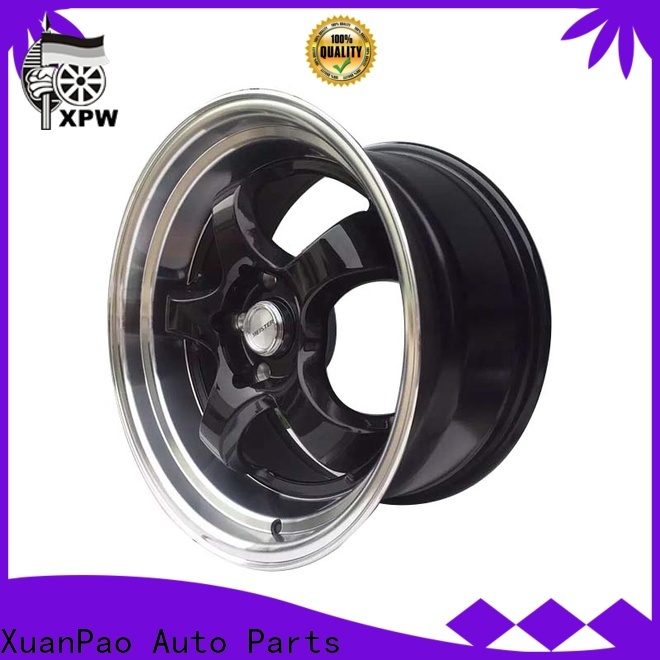 XPW cost-efficient 15 inch alloy wheels price manufacturing for vehicle