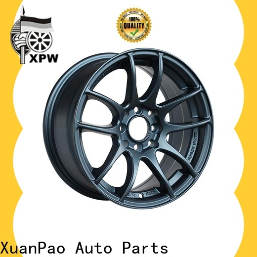 XPW alloy 18 inch black alloy wheels manufacturing for Toyota
