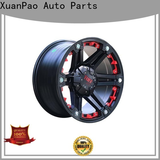 XPW wholesale black chrome rims for suv design for SUV cars