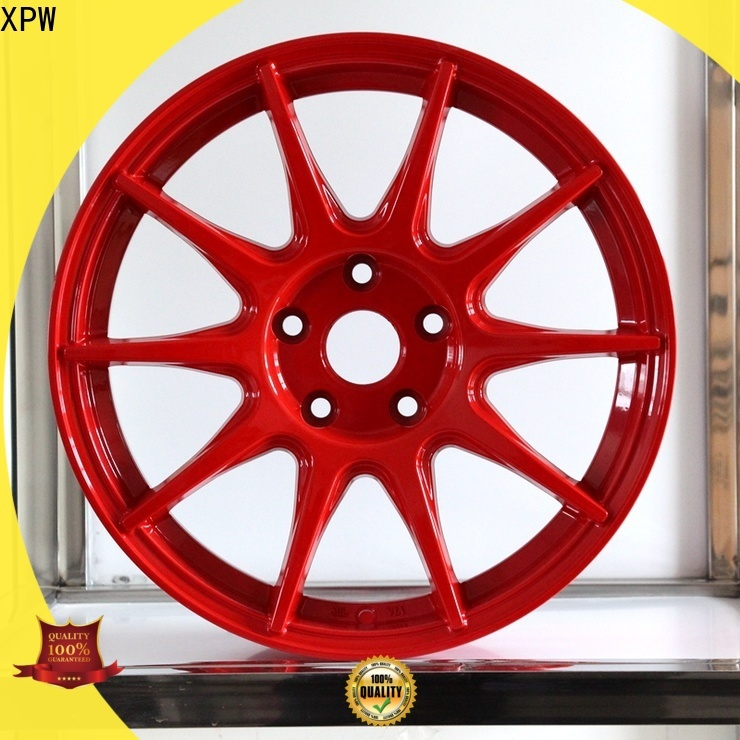 XPW aluminum 17 inch spoke rims suppliers for Toyota