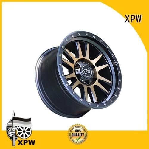 XPW custom black suv rims manufacturing for cars
