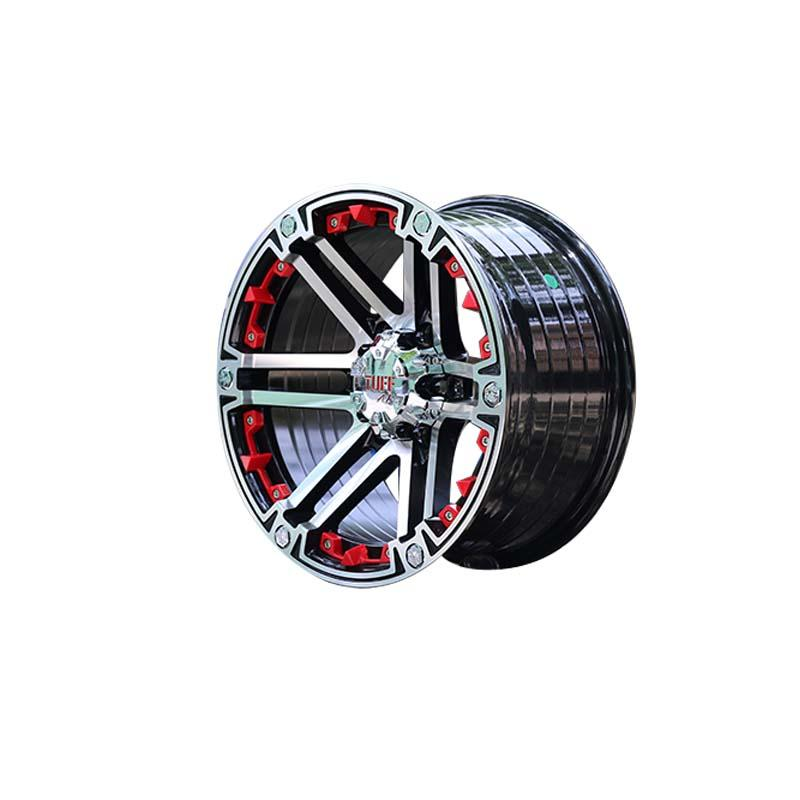 durable truck wheels aluminum customized for SUV cars-3