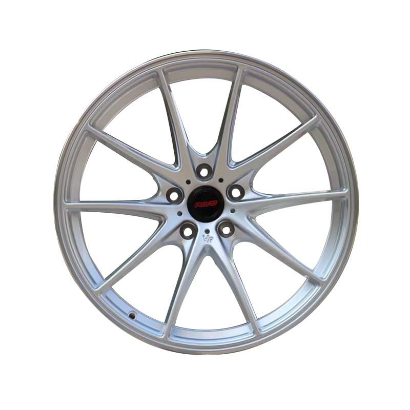 cost-efficient 18 black rims silver customized for cars-3