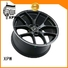matte black black mercedes wheels low-pressure casting for cars XPW