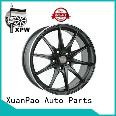 XPW wide sides 18 steel rims supplier for Toyota