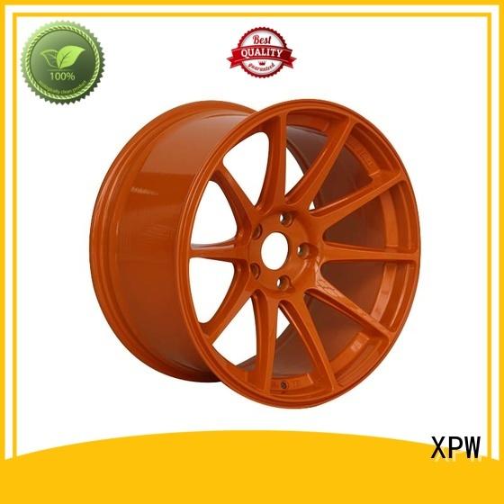 XPW matt black 18 rims supplier for vehicle