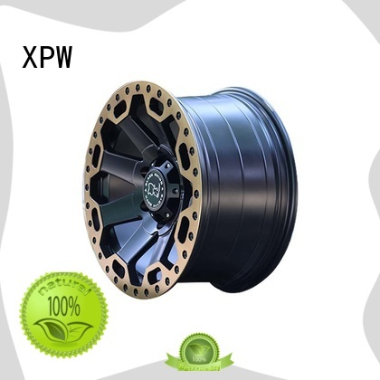 XPW black with bronze face custom suv wheels customized for SUV cars