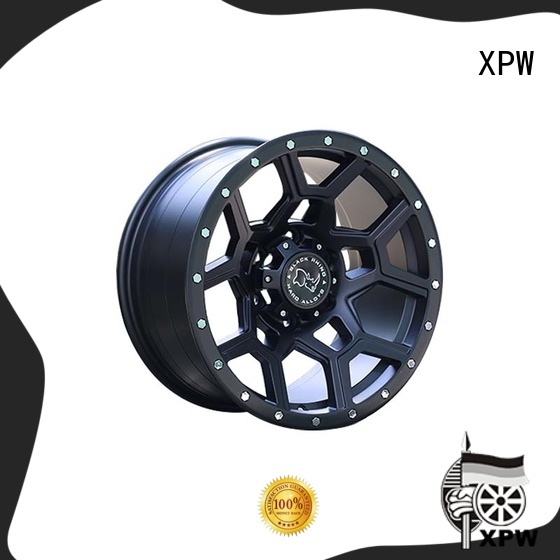 suv off road wheels black with bronze face for SUV cars XPW