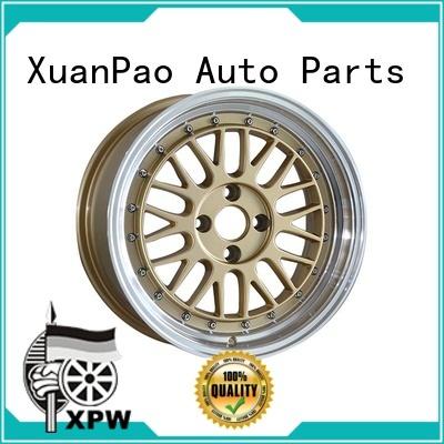 XPW aluminum 15 4x100 steel wheels wholesale for Toyota