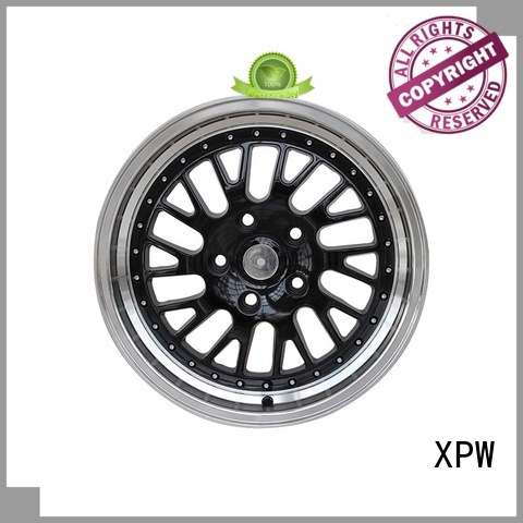 XPW black 16 inch off road wheels manufacturing for cars