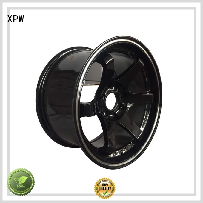 XPW high quality 15 inch steel wheels manufacturing for vehicle