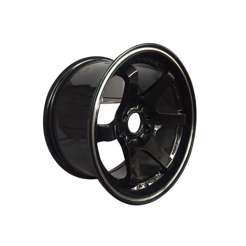 aluminum 15 inch black rims manufacturing for Honda series XPW-2