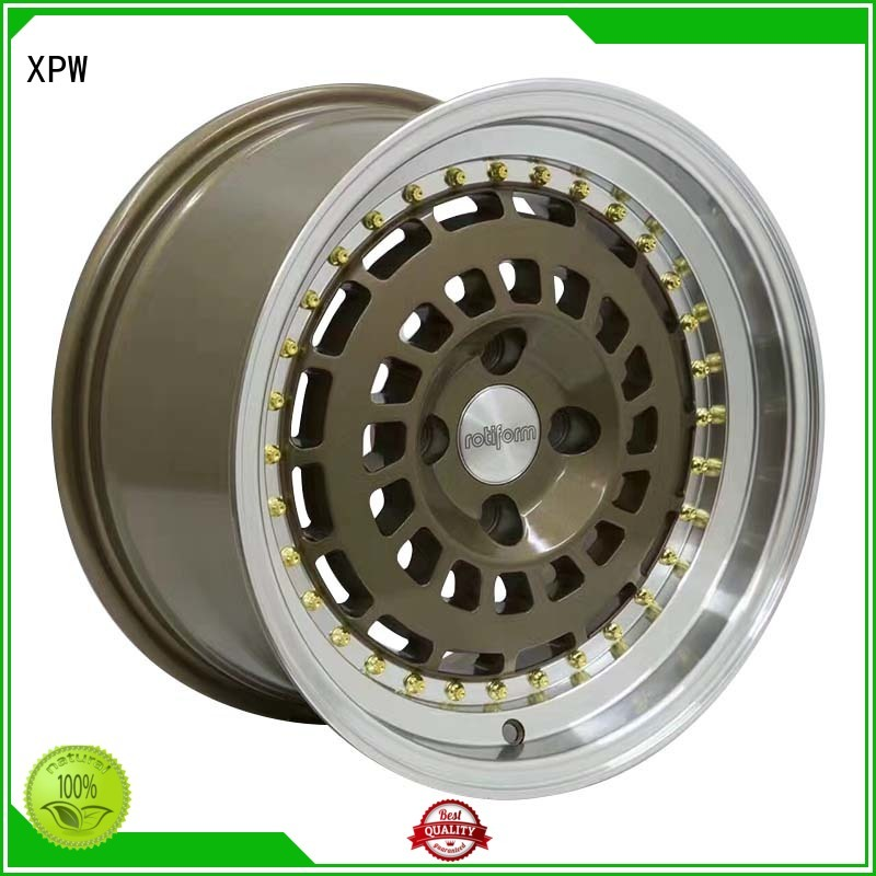 high quality black steel wheels white design for cars