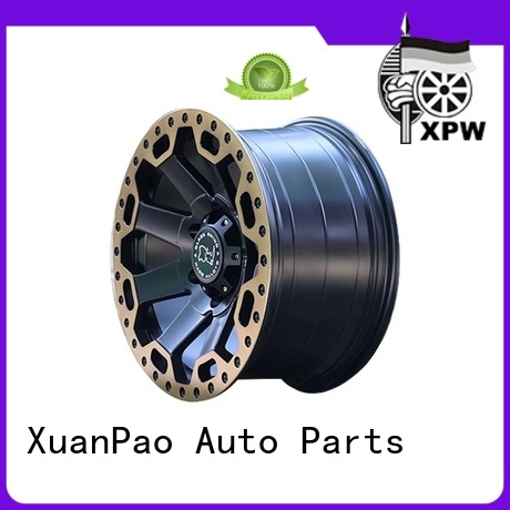 exquisite black suv rims black with bronze face wholesale for SUV cars