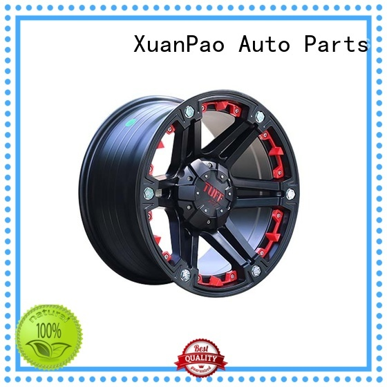 exquisite black suv wheels alloy design for SUV cars