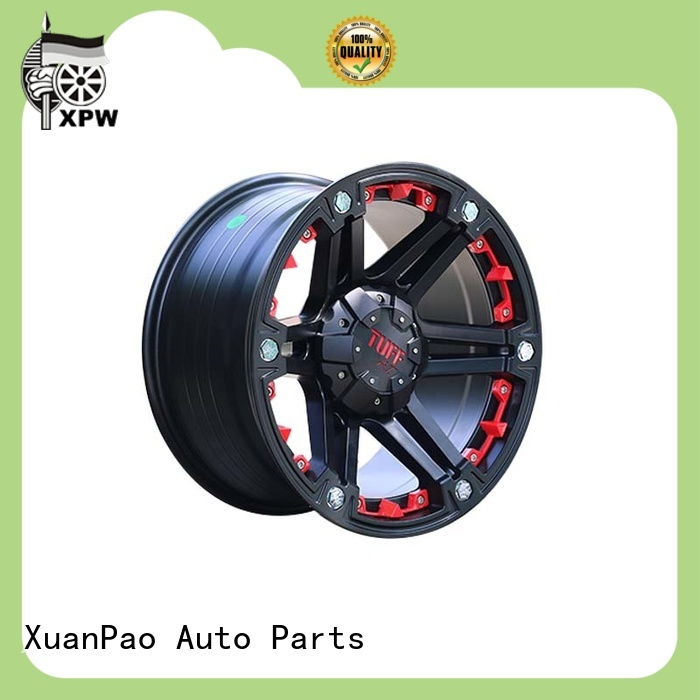XPW black with bronze face custom suv rims design for vehicle