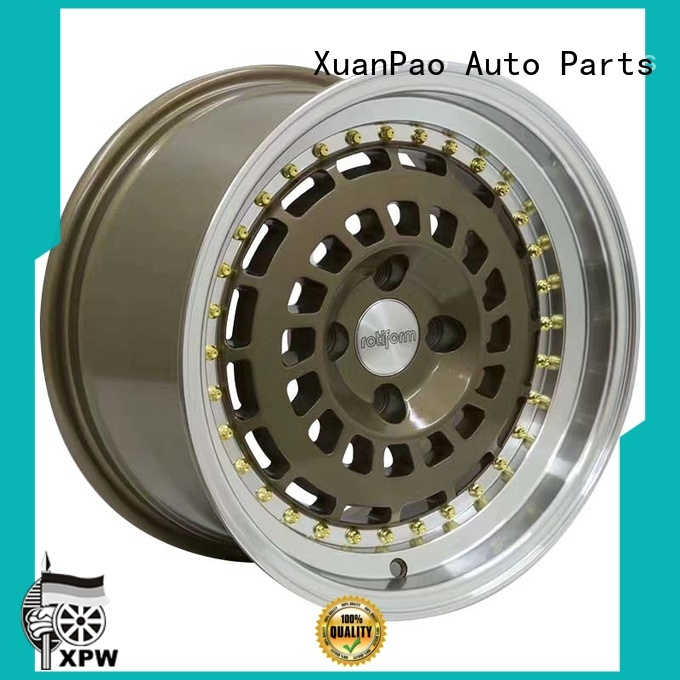 professional 15 inch rims white design for cars