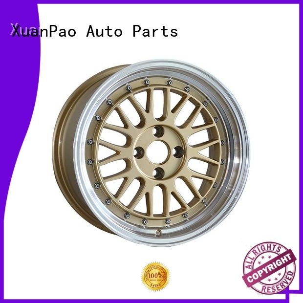 XPW professional 15 inch chrome wheels novel design with beautiful shape for Toyota