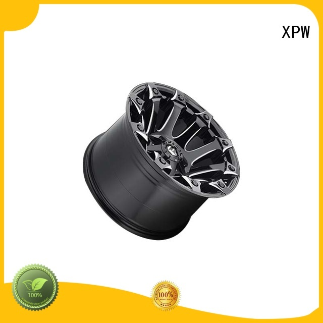 XPW durable black suv wheels wholesale for SUV cars