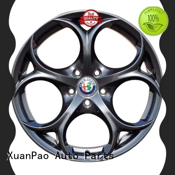 hot selling black and red 18 inch rims silver manufacturing for Toyota